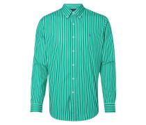 Slim Fit Freizeithemd mit Streifenmuster