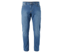 Stone Washed Regular Fit 5-Pocket-Jeans