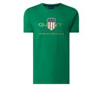 T-Shirt mit Logo-Print Modell 'Archive'