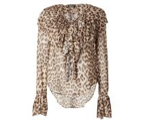 Blusenshirt mit Leopardenmuster