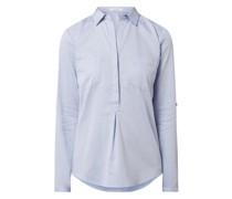 Blusenshirt mit Webmuster Modell 'Falenta'