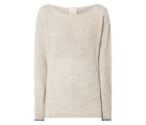 Pullover mit überschnittenen Schultern Modell 'Anaa'