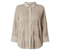 Bluse in Crinkle-Optik Modell 'Etienne'