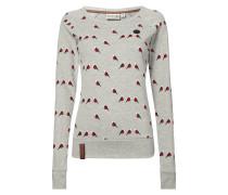 Sweatshirt mit Vogelmuster