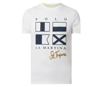 Slim Fit T-Shirt mit City-Print