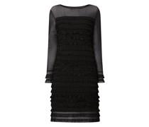 Kleid mit Rüschen und Spitze Modell 'Malena'