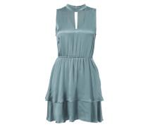 Kleid mit Choker-Kragen