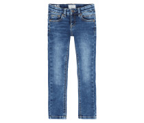 Stone Washed Slim Fit Jeans