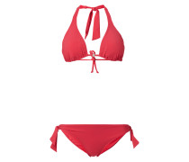 Bikini mit Oberteil in Triangel-Form