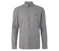 Tailored Fit Freizeithemd mit Button-Down-Kragen