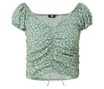 Cropped Shirt mit Rayon-Anteil