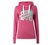 Sweatshirt mit Kapuze und Logo-Print