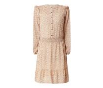 Kleid mit Allover-Muster