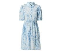 Kleid aus Bio-Baumwolle Modell 'Ocean'