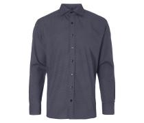 Modern Fit Hemd mit feiner Musterung