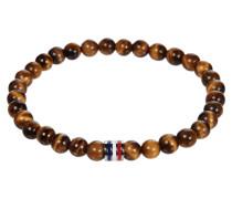 Armband mit Perlen aus Tigerauge