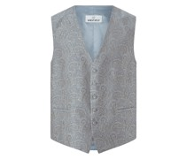 Weste mit Paisley-Muster