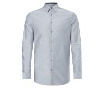 Fitted Business-Hemd mit New Kent Kragen