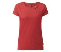 T-Shirt mit Logo-Details Modell 'Ragy'