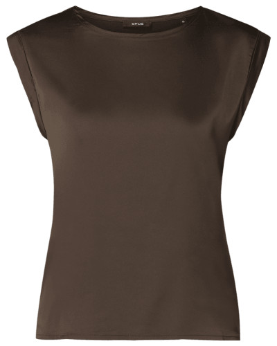 Blusenshirt aus Satin