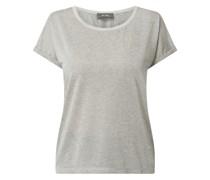 T-Shirt mit Effektgarn Modell 'Kay'