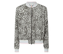 Bomber mit Leopardenmuster