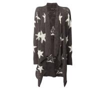 Cardigan mit eingearbeitetem Sternenmuster
