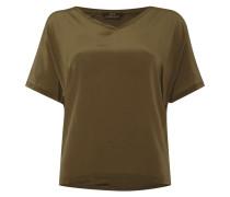 Shirt mit Vorderseite aus Seide