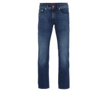 Stone Washed 5-Pocket-Jeans im Slim Fit