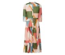 Kleid mit Allover-Muster Modell 'Celena'