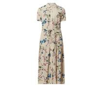 Kleid mit floralem Muster Modell 'Paree'