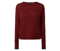 PLUS SIZE Pullover mit Raglanärmeln Modell 'Esme'