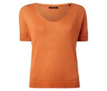 Pullover mit angeschnittenen Ärmeln mit Aufschlag
