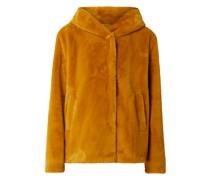 Jacke aus Fake Fur