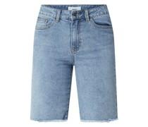 Jeansshorts mit Stretch-Anteil Modell 'Marina'