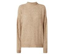 Pullover mit überschnittenen Schultern Modell 'Becky'