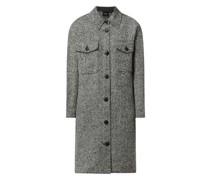 Oversized Mantel mit Umlegekragen Modell 'Rosie'