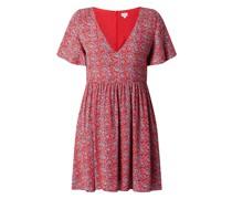 Minikleid aus Krepp mit Paisley-Muster Modell 'Carolina'