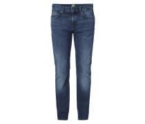 Slim Fit Jeans mit fünf Taschen