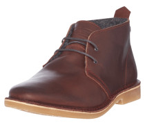 Desert Boots aus Leder im Vintage Look