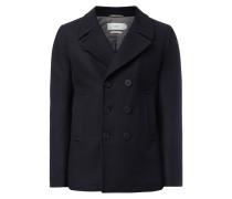 Caban-Jacke aus Wollmischung