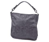 Hobo Bag mit Nietenbesatz