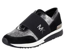 Slip-On Sneaker aus echtem Leder