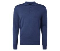 Pullover mit Polokragen