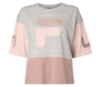 Shirt mit gummiertem Logo-Print