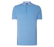 Body Fit Poloshirt mit Stretch-Anteil