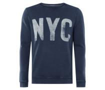 Sweatshirt mit NYC-Print