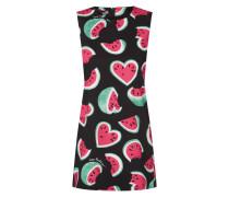 Kleid mit Melonen-Print