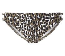 Bikinislip mit Leopardenmuster