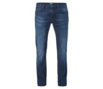 Rinsed Washed Slim Fit 5-Pocket-Jeans